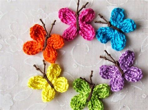 pin crochet butterfly pattern on pinterest mariposas de primavera tejidas al crochet con patrones