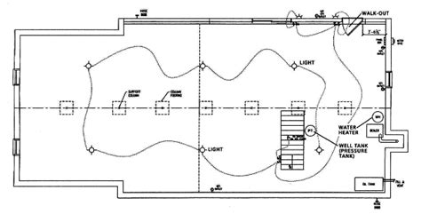 Floor Plan With Plumbing Layout by Basement Layout Plans Are Required For Homes With Basements