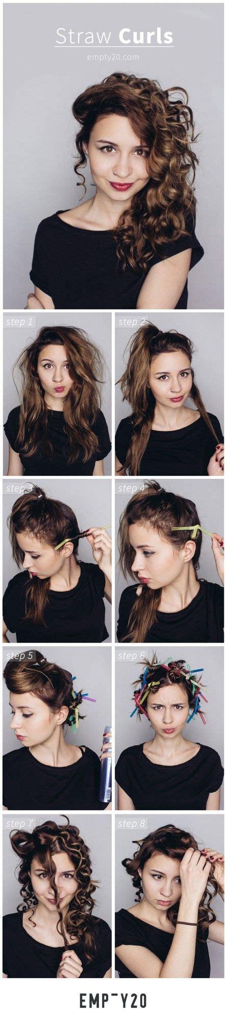 heatless hairstyles tutorials best 25 straw curls ideas on pinterest tight curly hair