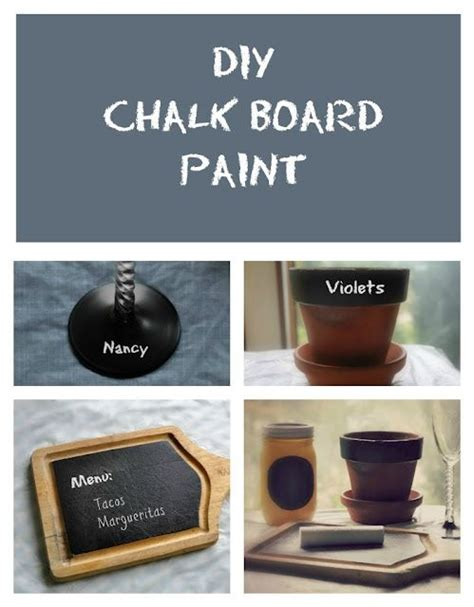 diy chalkboard recipe diy chalkboard paint recipe gets crafty