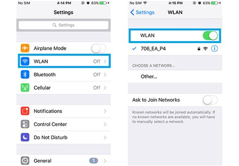 resetting wifi connection how to fix iphone not sending or receiving messages