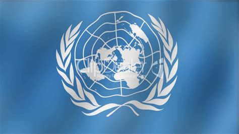 United Nations Nation 8 by United Nations Waving Flag Detail Royalty Free