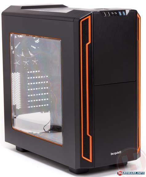 Original Be Silent Base 600 With Window be silent base 600 window orange bgw05 photos kitguru united kingdom