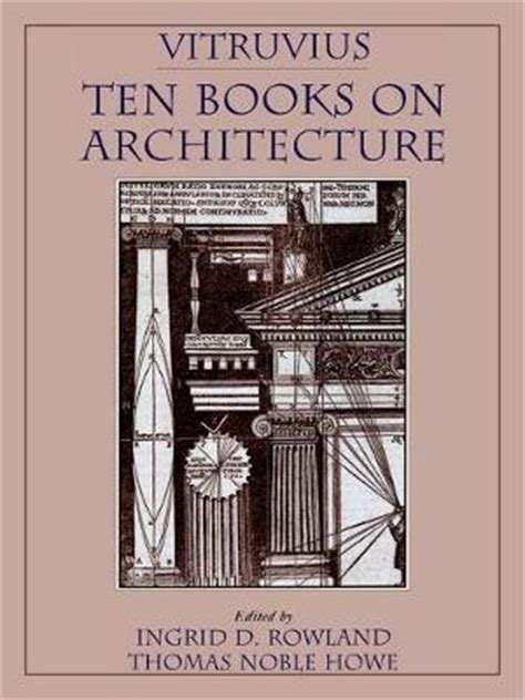 ten books vitruvius ten books on architecture ten books