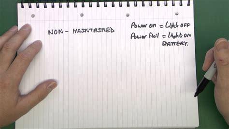 emergency light key switch wiring diagram 41 wiring