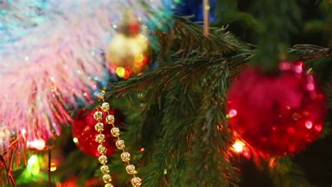 christmas lights fade lights fade in and fade out stock footage 2670755