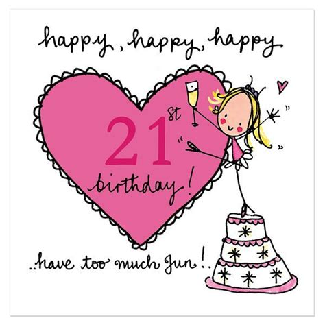 Happy 21st Birthday Wishes To My Inspirational Birthday Quotes And Wishes With Pictures