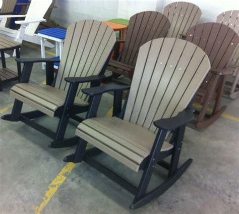polywood rocking chairs polywood adirondack rockers