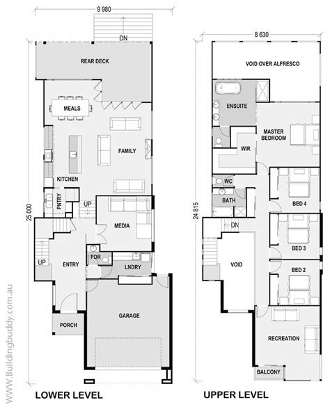 jackwood sloping lot house house plans by http www buildingbuddy com au home designs main protea sloping lot house house plans by http www