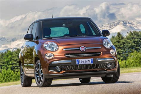 what car fiat 500l fiat 500l gets a update for 2017 carwitter