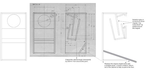 Floor Plans With Measurements diy project diy tannoy 12 quot dual concentric horn