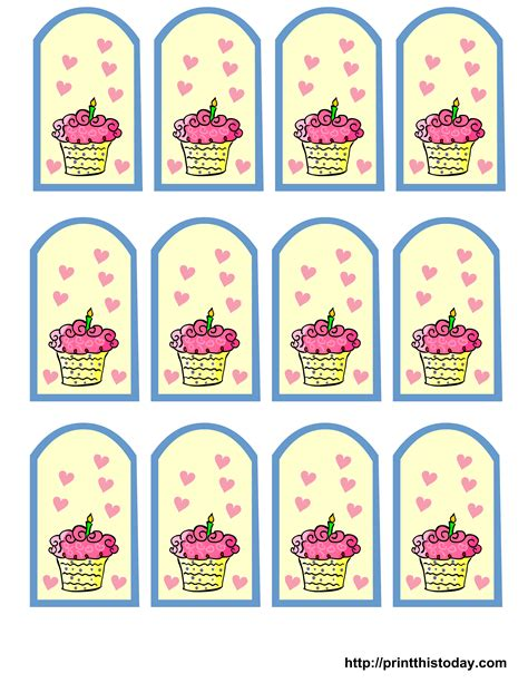 printable birthday gift tags templates gift tags free printable new calendar template site