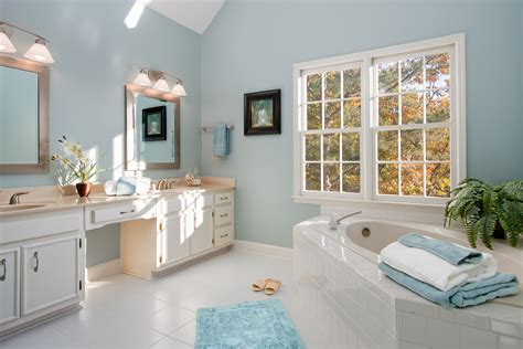 master bath home staging and real estate photography