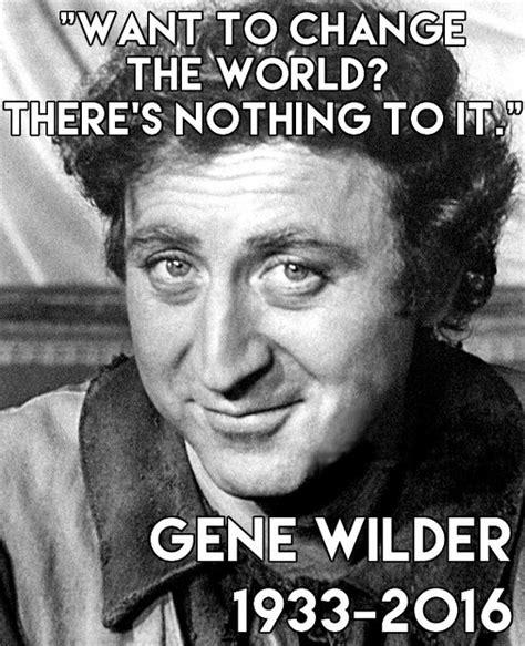 Gene Meme - american actor gene wilder whose meme is very popular on