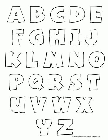 printable hollow letters printable alphabet letters archives woo jr kids activities