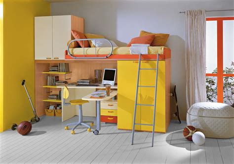 boys loft bed with desk mixing work with pleasure loft beds with desks underneath
