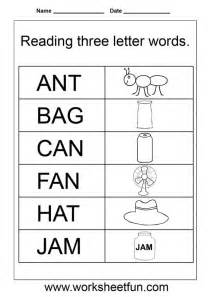 word family worksheets 3 letter 3 letter words worksheets kindergarten class ideas lessons student words and esl