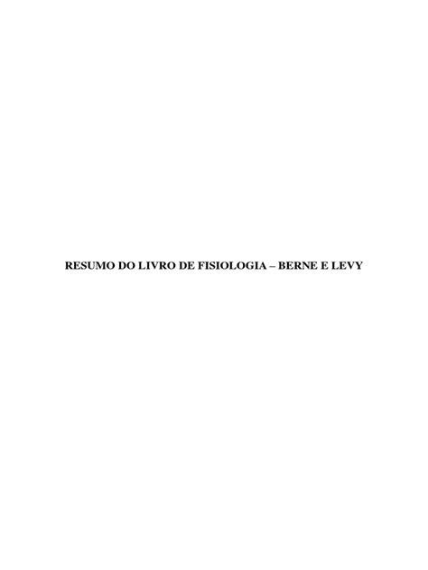 Berne e Levy - Fisiologia (resumo).pdf   Audição