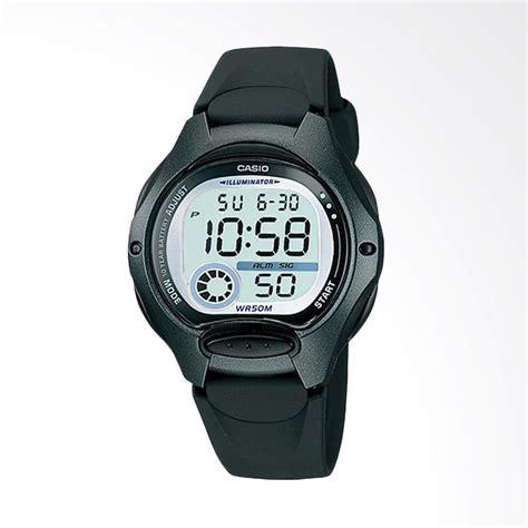 Jam Tangan Casio Wanita Digital jual casio digital lw 200 1av jam tangan wanita grey black harga kualitas terjamin