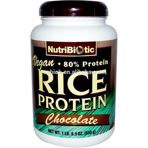Bulk Protein bulk wholesale plant based protein powder glutein free wholegrain organic brown rice protein
