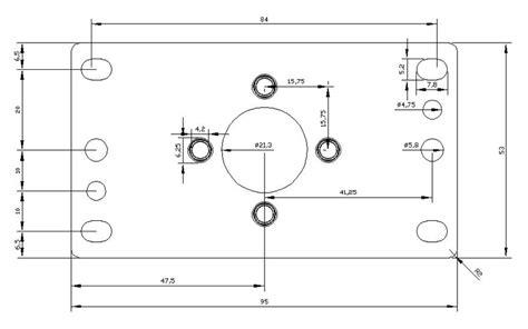 joystick layout template arcade power parts information