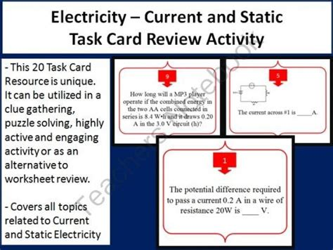 static electricity review worksheet answers 14 best images about grade 6 science electricity on the grid miss and