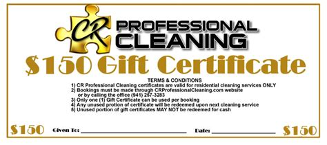 Molly Maid Gift Cards - gift certificates cr professional cleaning