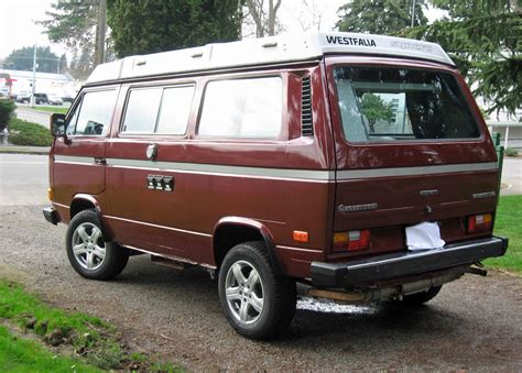 volkswagen westfalia syncro 1987 vw vanagon syncro westfalia cer auction 37k