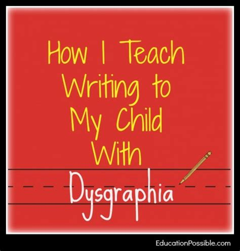 How To Teach Essay Writing To by How I Teach Writing To My Child With Dysgraphia