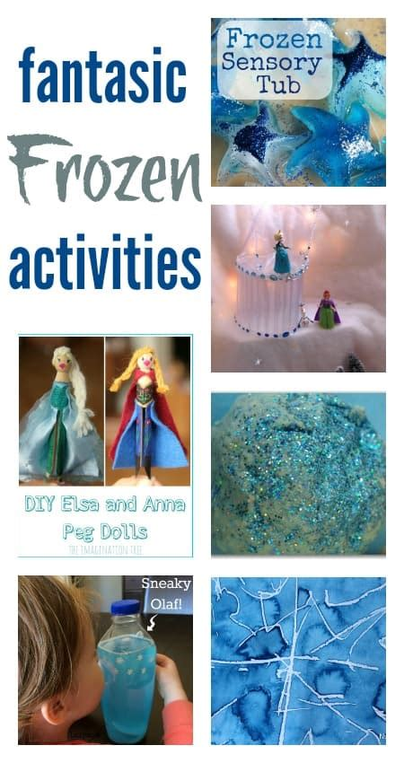 edible sensory play  frozen fractals play planner