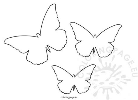 Animal Coloring Page Cut Templates