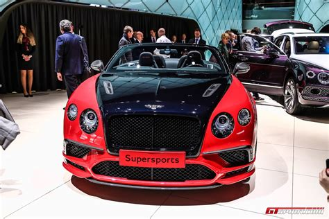 bentley supercar 2017 geneva 2017 bentley continental supersports coupe
