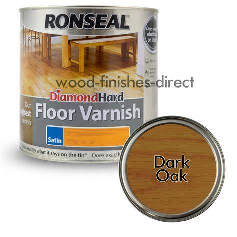 Ronseal Diamond Hard Coloured Floor Varnish   2.5L