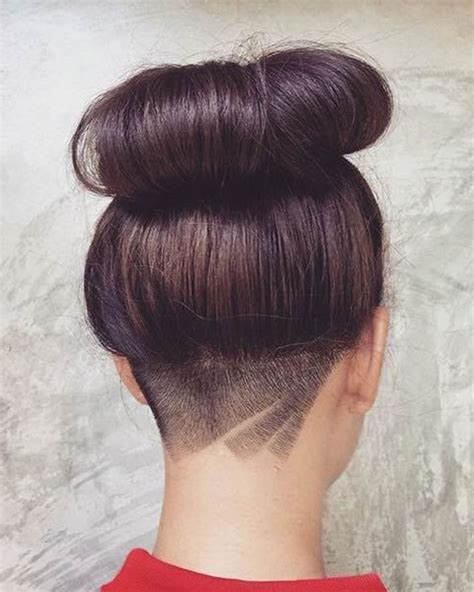 hairstyles design nape shaved design women for 2018 best nape haircut