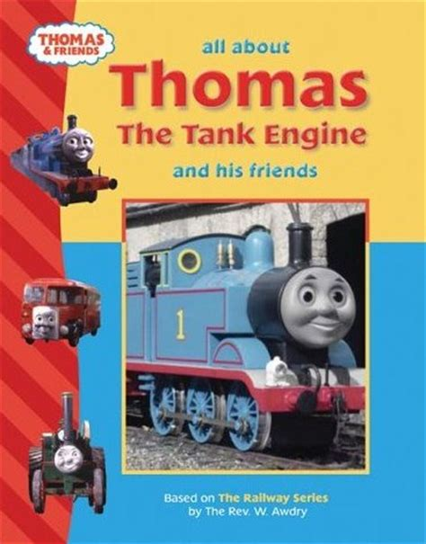 and all friends books all about the tank engine and his friends