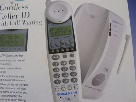 Bellsouth Phone Lookup Bellsouth 900 Mhz Cordless Caller Id Phone W Call Waiting 109 99 Kmart New