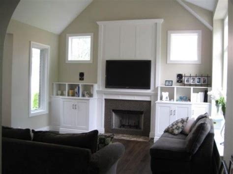 Problems With Rooms by Tv Above Fireplace Small House Big Ideas