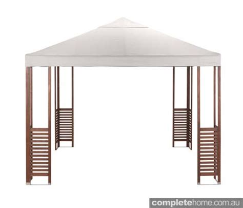 temporary gazebo get shady 12 pergolas awnings shading completehome