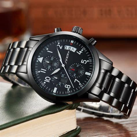 Jam Tangan Quiksilver Crono Stopwatch Murah sinobi jam tangan pilot chrono pria 9639 black jakartanotebook