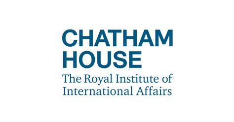 chatham house international affairs think tank chatham house
