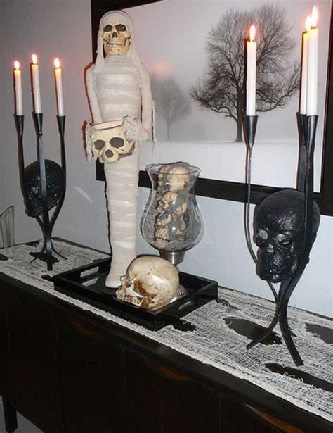 Mummy Decorations by Haunt Your House 18 Ideas To Create The Spookiest Place