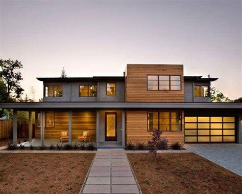 modern prairie style homes with garage design ideas flat roof costs for 2017