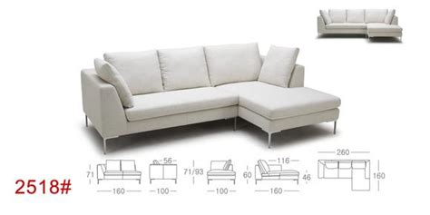 feather down sectional kuka 2518 fabric sectional with feather down cushions
