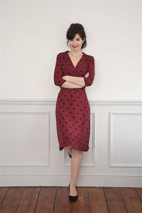 wrap dress pattern uk sew over it 1940 s wrap dress sewing pattern sew over it