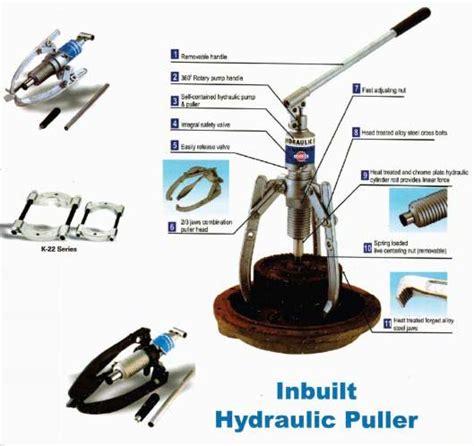 hydraulic puller ram inbuilt hydraulic puller inbuilt hydraulic puller