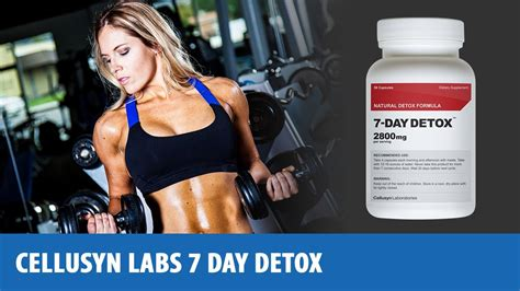 Lab Detox Reviews by Cellusyn Labs 7 Day Detox Reviews Esupplements