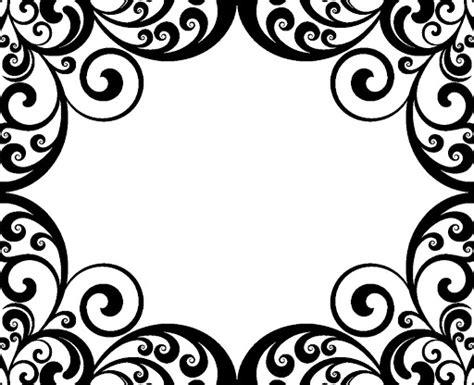damask pattern frame damask frame clipart 68