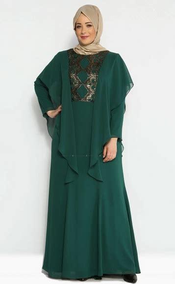 Baju Muslim Gamis Bigsize Hitam Abaya Modern modisnya ibu dengan model baju lebaran gamis terbaru