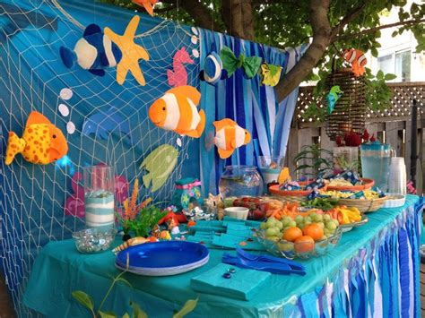 the sea theme decorations pin by renee raya on sunday school