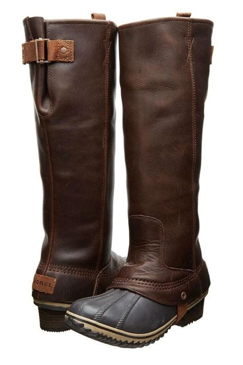 sorel brown winter boots from canada by modern sole